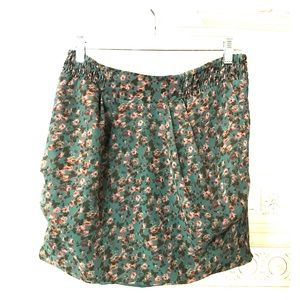 Urban outfitters floral vintage style skirt